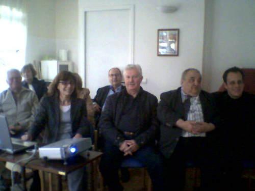 Françoise Nolot, Claude Dujardin et Louis Grenier